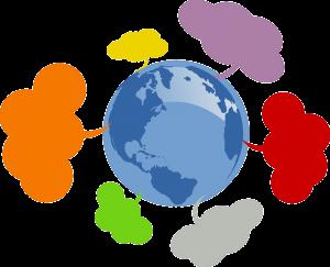 community, network, globe